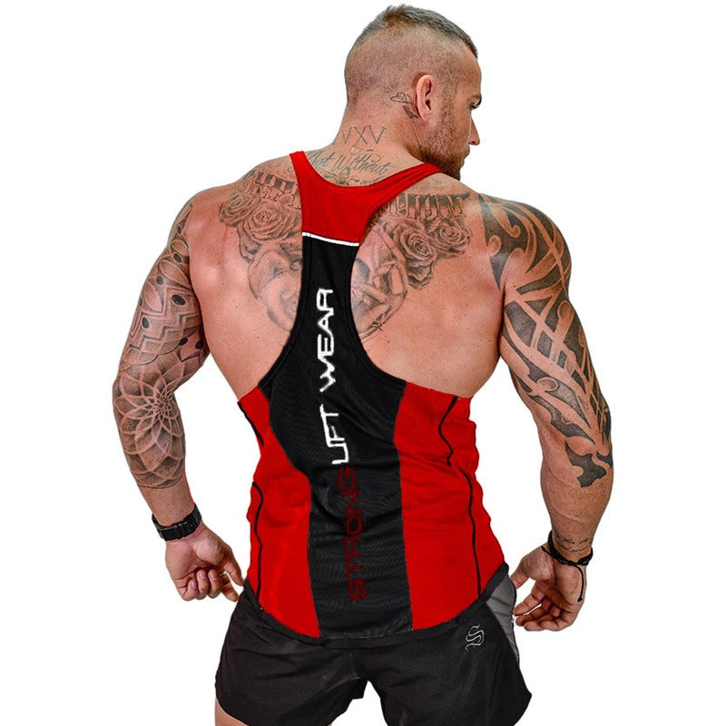 Men Tank Top in Rock Style / Summer Bodybuilding Clothing / Fitness Alternative Fashion - HARD'N'HEAVY