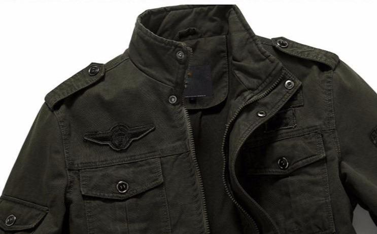 Men's Military Jacket / Cargo Army clothes / Rave Outfits - HARD'N'HEAVY