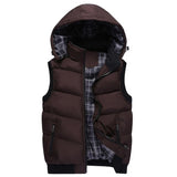 Mens outdoor vest / alternative clothing / Thicken Sleeveless Jackets - HARD'N'HEAVY