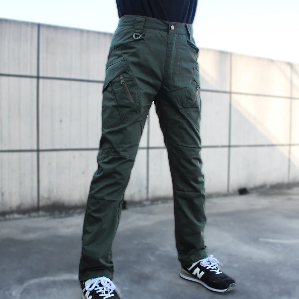 Military Tactical Cargo Pants / Men Army Multi Pockets Trousers / Stretch Cotton - HARD'N'HEAVY
