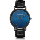 Minimalist Top Brand Luxury Quartz Watch / Japan Quartz Watches with Genuine Leather - HARD'N'HEAVY