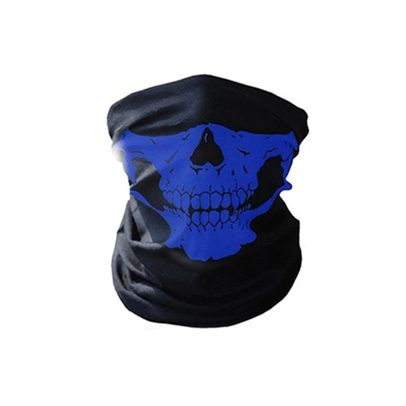 Motorcycle SKULL Ghost Rock Style Face Windproof Mask / Outdoor Ski Caps Bicyle Balaclavas Scarf - HARD'N'HEAVY
