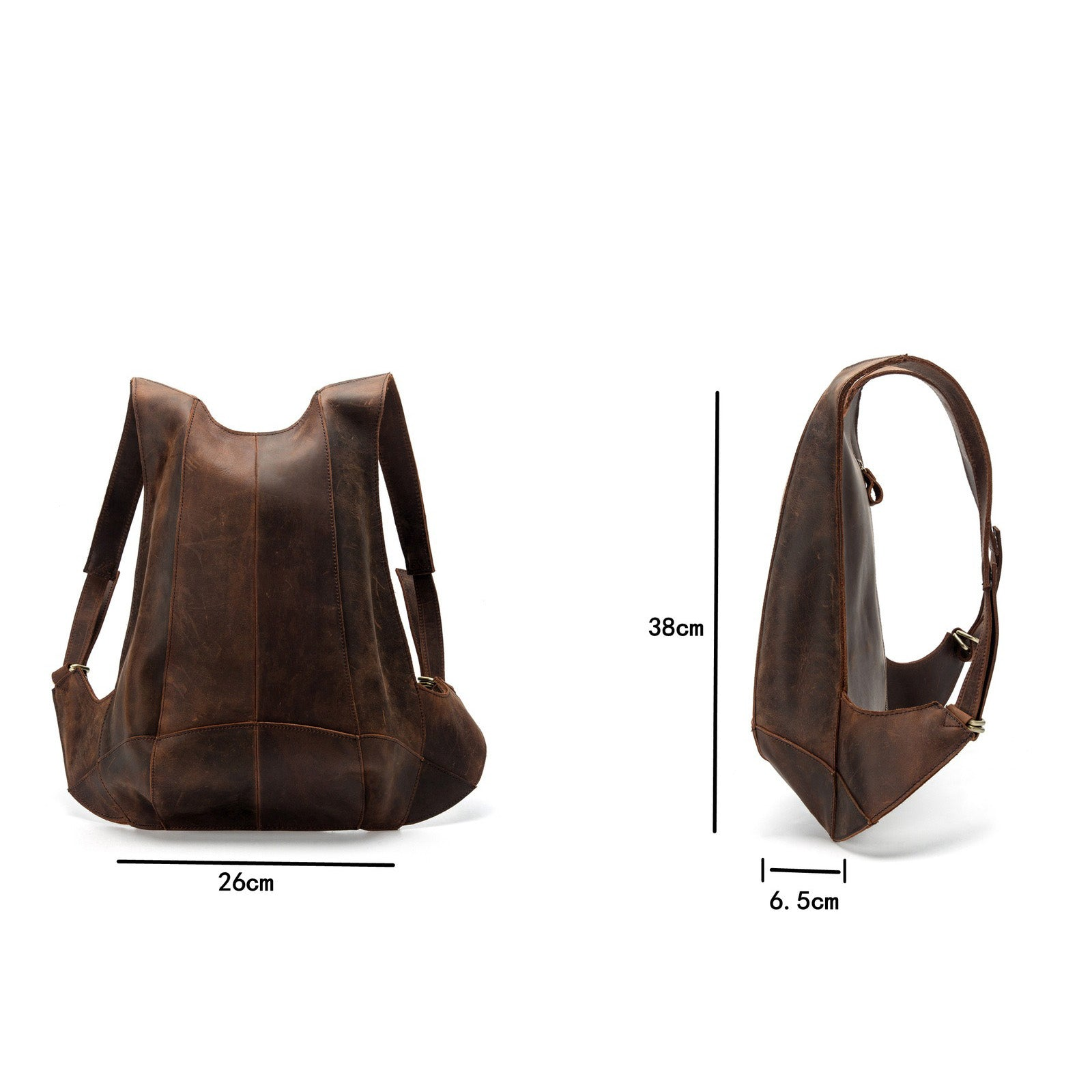 Natural Leather Backpack for Women / Travel Anti Theft Backpack / Genuine Leather Accessorie - HARD'N'HEAVY