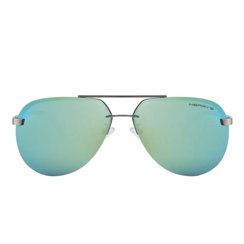 Polarized Aluminum Alloy Frame Sunglasses in Alternative Fashion - HARD'N'HEAVY