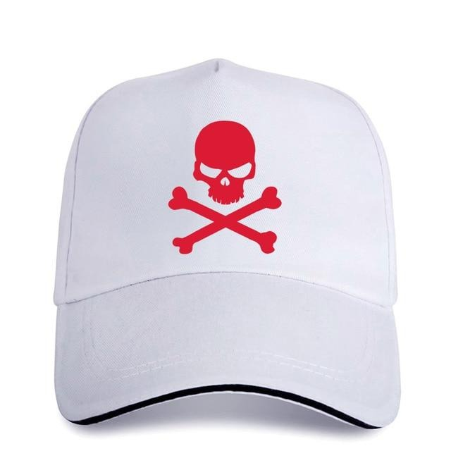 Baseball Cap for with Pirate Skull Print / Women & Men Retro Cotton Caps / Snapback Sun Hats - HARD'N'HEAVY