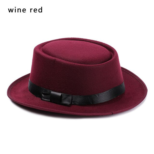 Elegant Solid Color Cylinder Hat / Man &  Woman Vintage Jazz Cap / Stage Performance - HARD'N'HEAVY