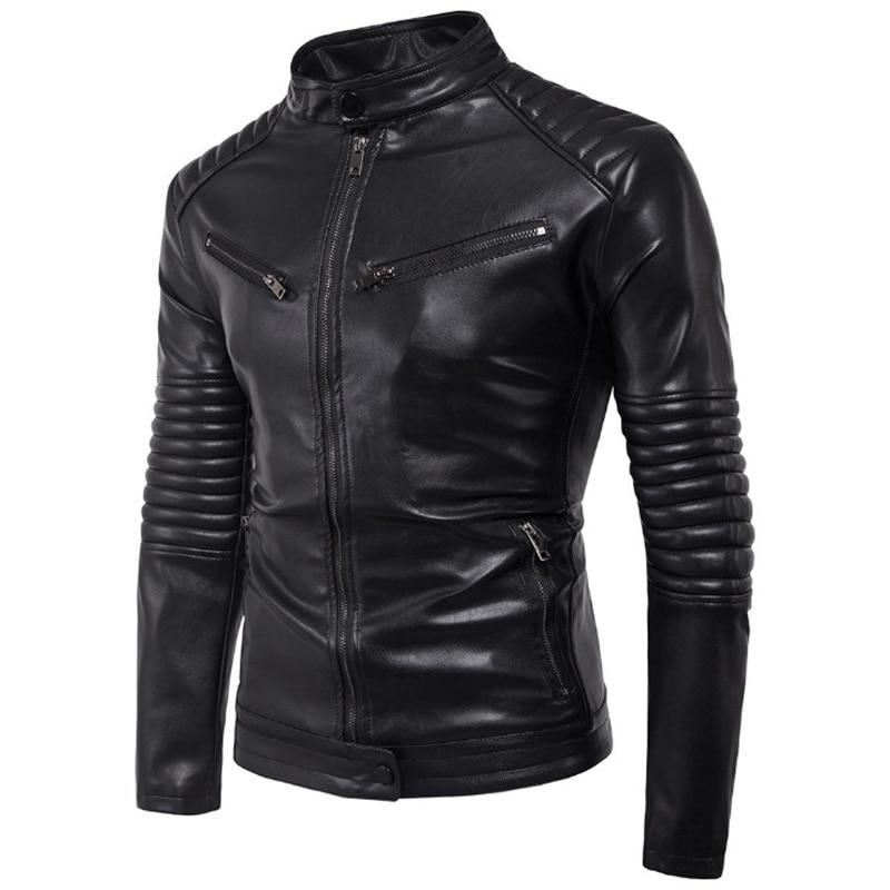 Rock Style Biker Jacket / Faux Leather Jacket / Alternative Fashion Bomber - HARD'N'HEAVY