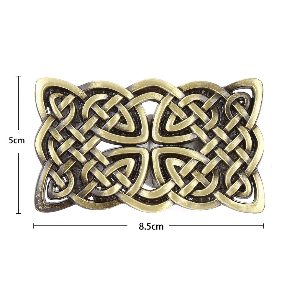 Rock Style Celtic Cross Buckle Suitable for 4cm Width Belt / Alternative Fashion Accessories - HARD'N'HEAVY