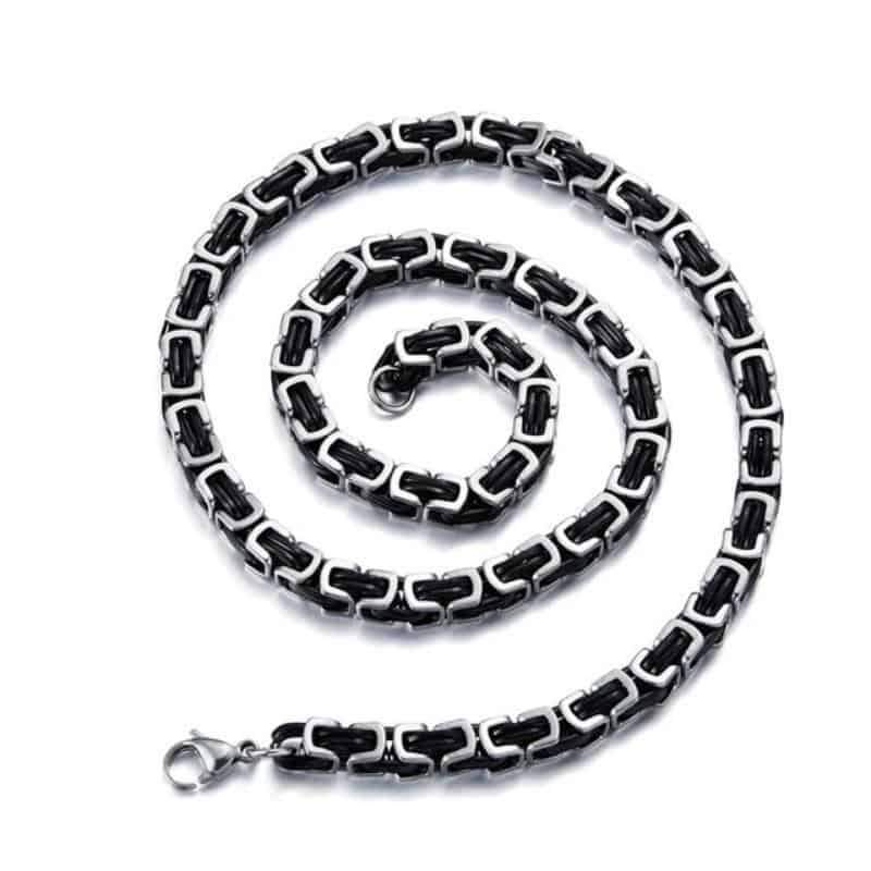 Rock Style Fashion Jewelry / Stainless Steel Biker Charm Unique Necklace - HARD'N'HEAVY