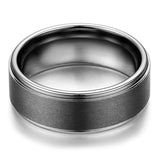 Rock Style Tungsten Carbide Ring / Men's Women's Rings / Cool Rings Jewelry - HARD'N'HEAVY