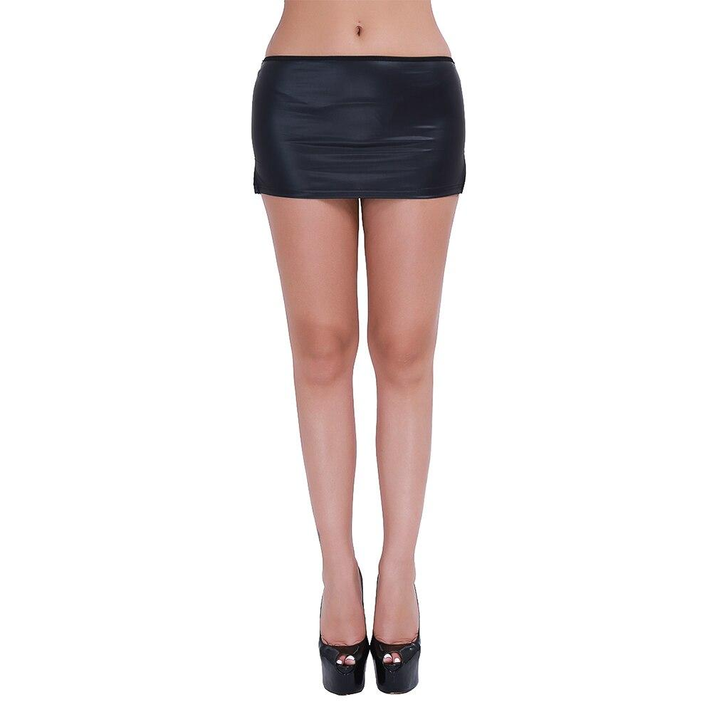 Sexy Black Set of Women's Mini Skirt and G-string / Gothic Clothing - HARD'N'HEAVY