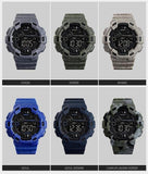 SKMEI Digital Fashion Sport Alarm Waterproof Watches / Unisex Sport Accessories - HARD'N'HEAVY