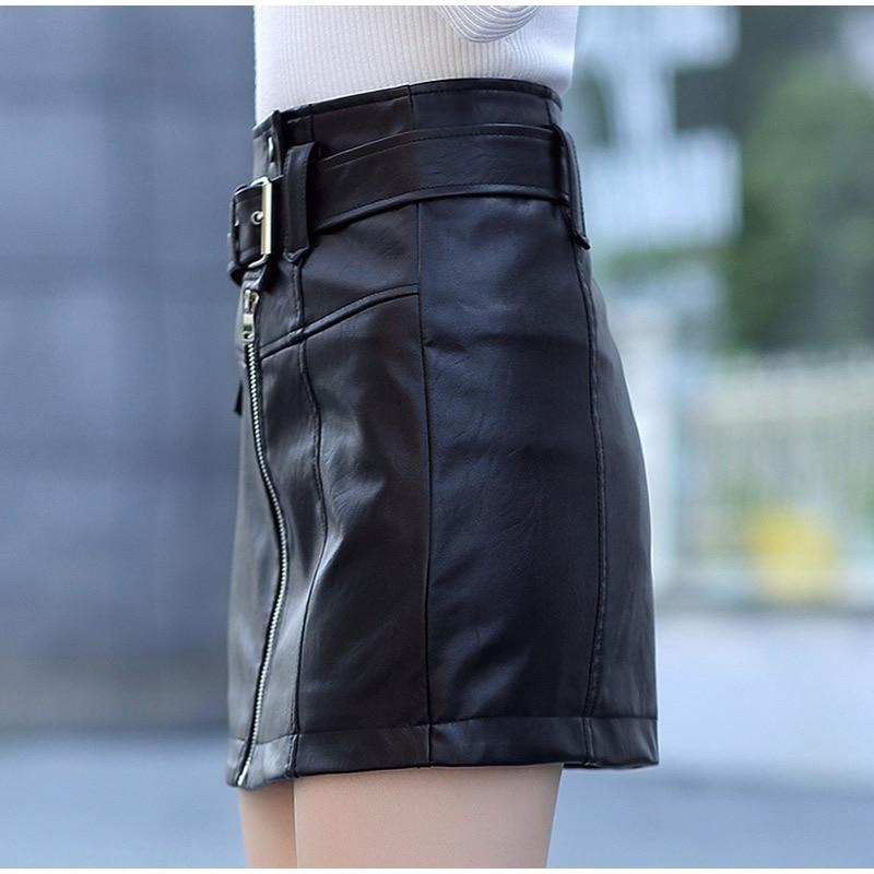 Slim High Waist Women Skirt / A-line Short Skirts in Rock Style / Rave Outfits - HARD'N'HEAVY