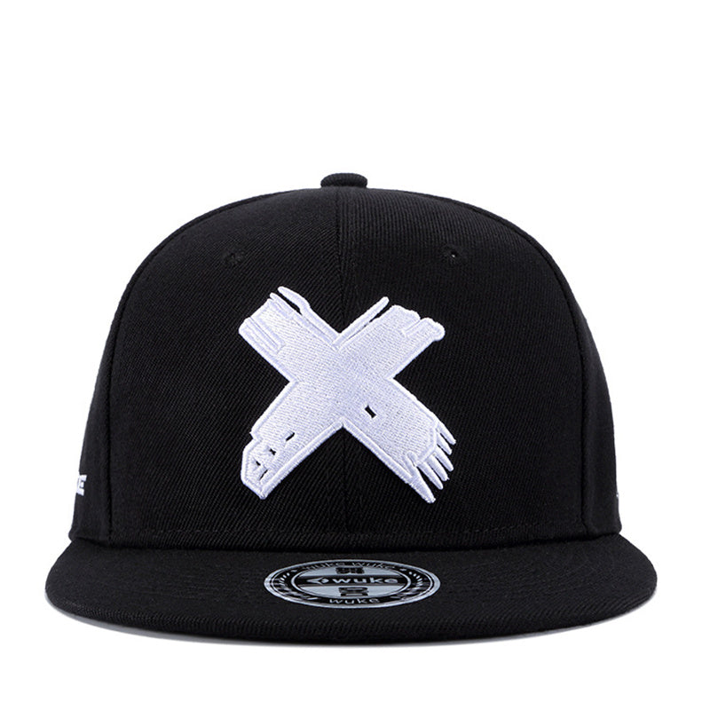 Snapback Cap Baseball Cap / Men Women Rock Style Baseball Hats with Flat Brim / Edgy clothing - HARD'N'HEAVY