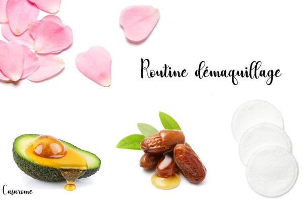 Routine démaquillage au naturel