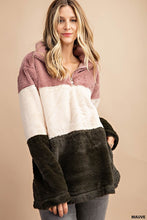 Load image into Gallery viewer, Faux Fur Pullover