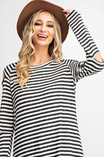 Load image into Gallery viewer, Stripe Open Sleeve Top