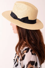 Load image into Gallery viewer, Panama Straw Hat