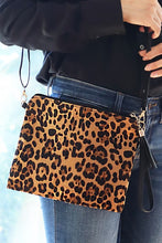 Load image into Gallery viewer, Leopard Print Wristlet/Crossbody