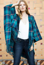 Load image into Gallery viewer, Plaid Shawl