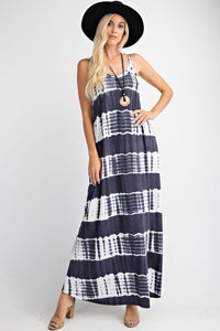Tie Dyed Maxi Dress