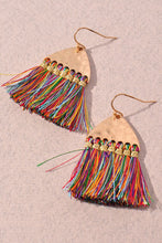 Load image into Gallery viewer, Gold Tassel Earrings