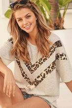 Load image into Gallery viewer, Chevron Leopard Top