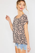 Load image into Gallery viewer, Pretty In Pink Leopard Top