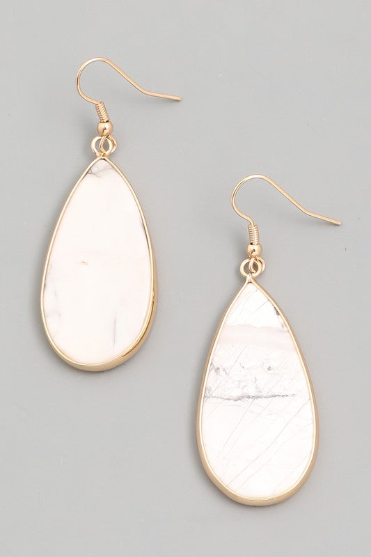Teardrop Earrings - Assorted Colors