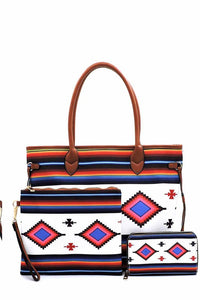 Tribal Aztec Bag Set
