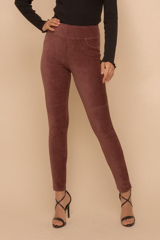 Corduroy Knit Leggings