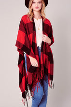 Load image into Gallery viewer, Buffalo Plaid Shawl