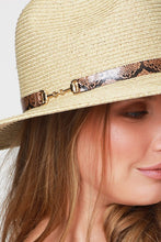 Load image into Gallery viewer, Wide Brim Panama Hat