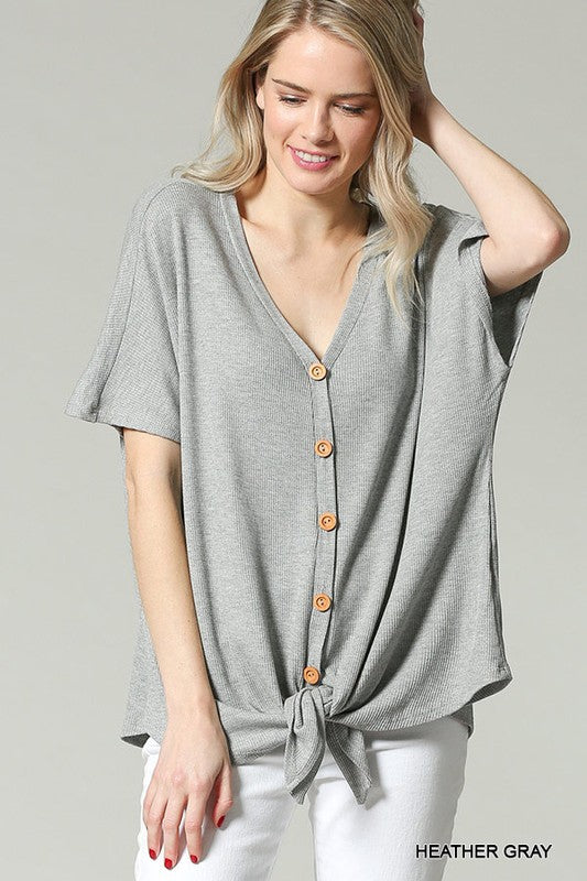 Oversized Thermal Tee
