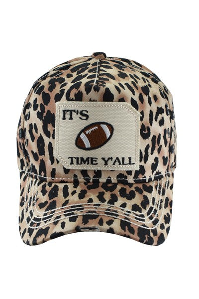 It's Football Time Y'all Cap
