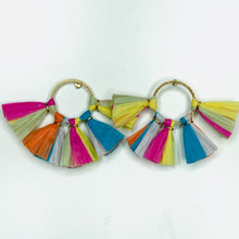 Load image into Gallery viewer, Raffia Studs - Assorted Color