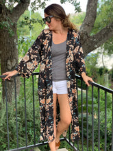 Load image into Gallery viewer, Full Bloom Kimono Jacket