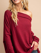 Load image into Gallery viewer, Off Shoulder Tunic Top