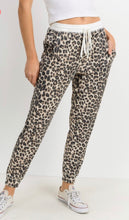 Load image into Gallery viewer, Leopard Jogger Pants