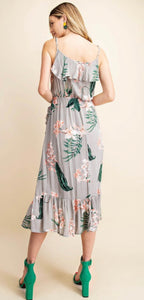 Floral and Fauna Dress