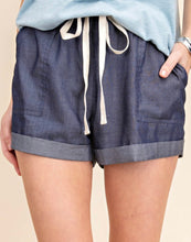 Load image into Gallery viewer, Chambray Shorts