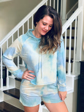 Load image into Gallery viewer, Tie Dye Hoodie Loungewear Set
