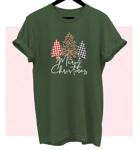 Merry Christmas Tree Tee