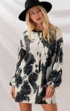 Load image into Gallery viewer, Tie Dye Reverse Seam Dress