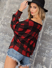 Load image into Gallery viewer, Buffalo Plaid Top