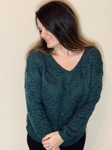 Heart Puff Sweater
