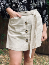 Load image into Gallery viewer, Button Up Skort