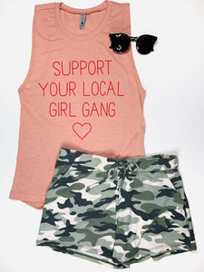 Support Your Local Girl Gang Tank