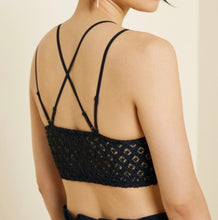 Load image into Gallery viewer, Floral Lace Cross Back Bralette