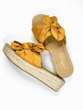 Load image into Gallery viewer, Marigold Espadrille Wedges